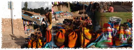 sacred valley photos - Chinchero Market
