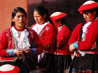 People in the Sacred Valley